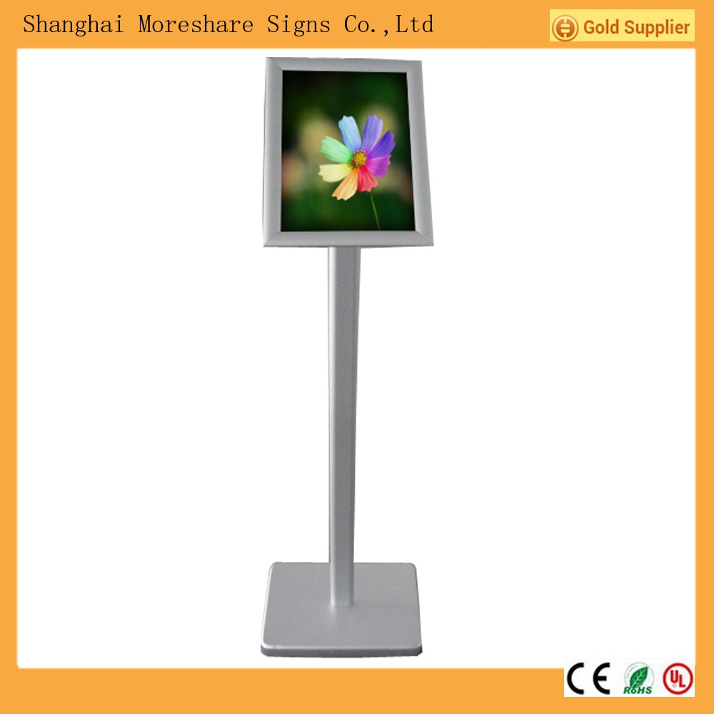 customized free standing poster frame