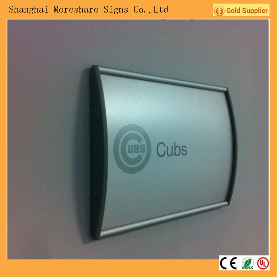 wayfinding sign, door sign, office signs, wall sign, indoor sign, directory sign, aluminium sign, wall frames