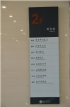 wayfinding signs, building directory sign,  interior directory sign