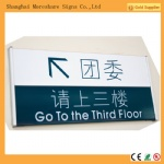 indoor  wayfinding signs
